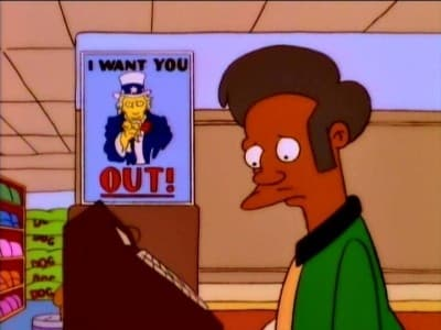 The Simpsons Season 7 :Episode 23  Much Apu About Nothing