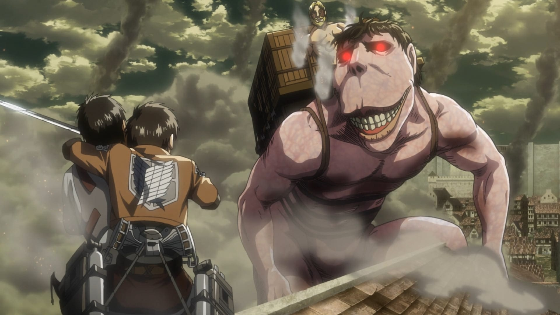 Shingeki No Kyojin Attack On Titan 3x18 187 Anime Online Sub