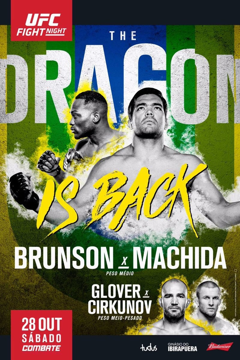 Ver UFC Fight Night 119: Brunson vs. Machida Online HD Español ()