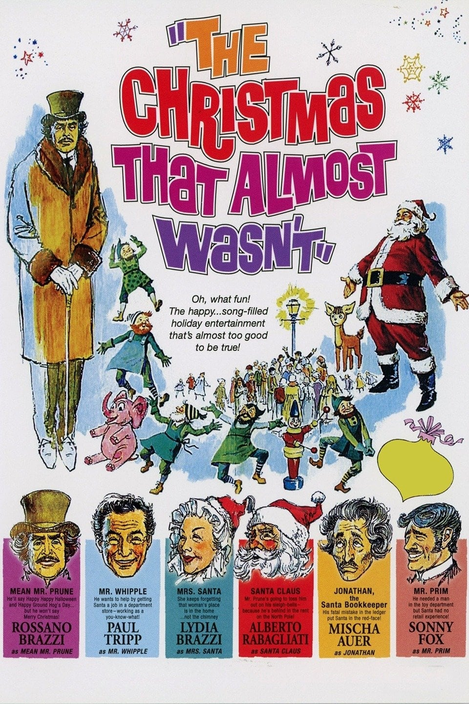 The Christmas That Almost Wasn't on FREECABLE TV