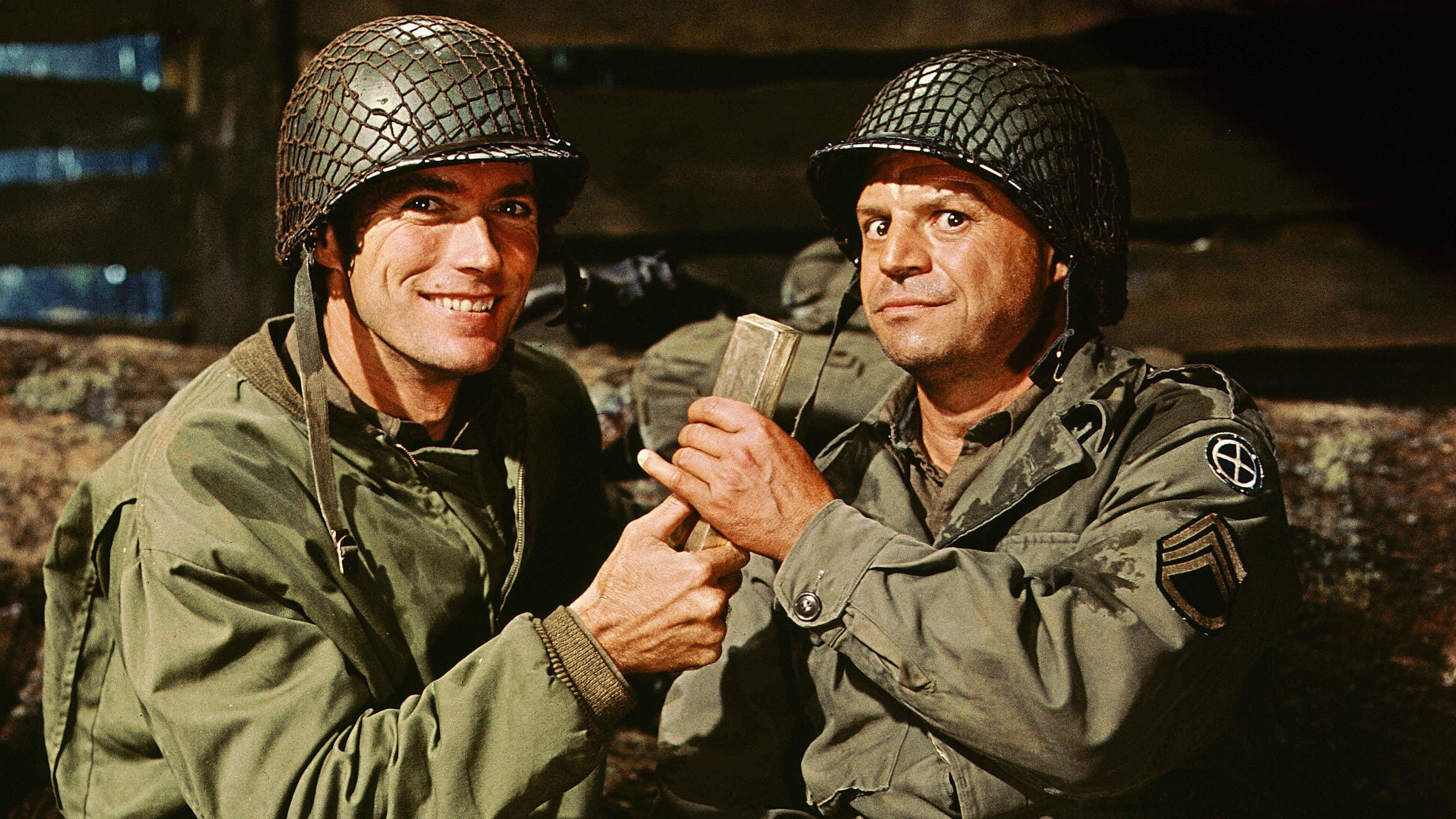 leaders in kelly s heroes Kelly's heroes is a 1970 american war comedy film, directed by brian g hutton, about a group of world war ii american soldiers who go awol to rob a bank behind enemy lines the film stars clint eastwood, telly savalas, don rickles, carroll o'connor, and donald sutherland, with secondary roles played by harry dean.