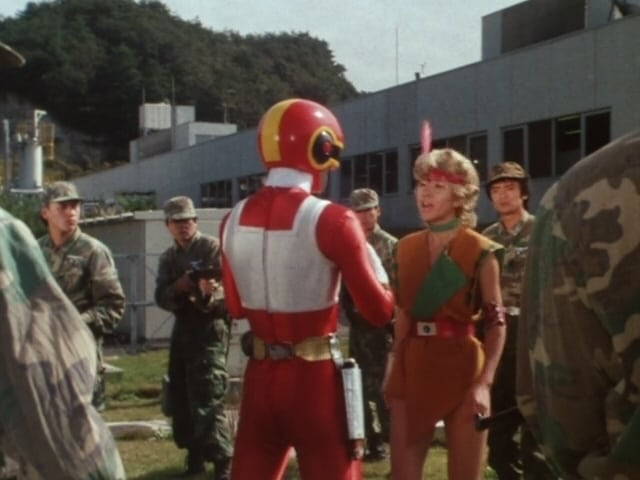 Super Sentai Season 9 :Episode 45  The Rainbow-Colored Girl, Aira