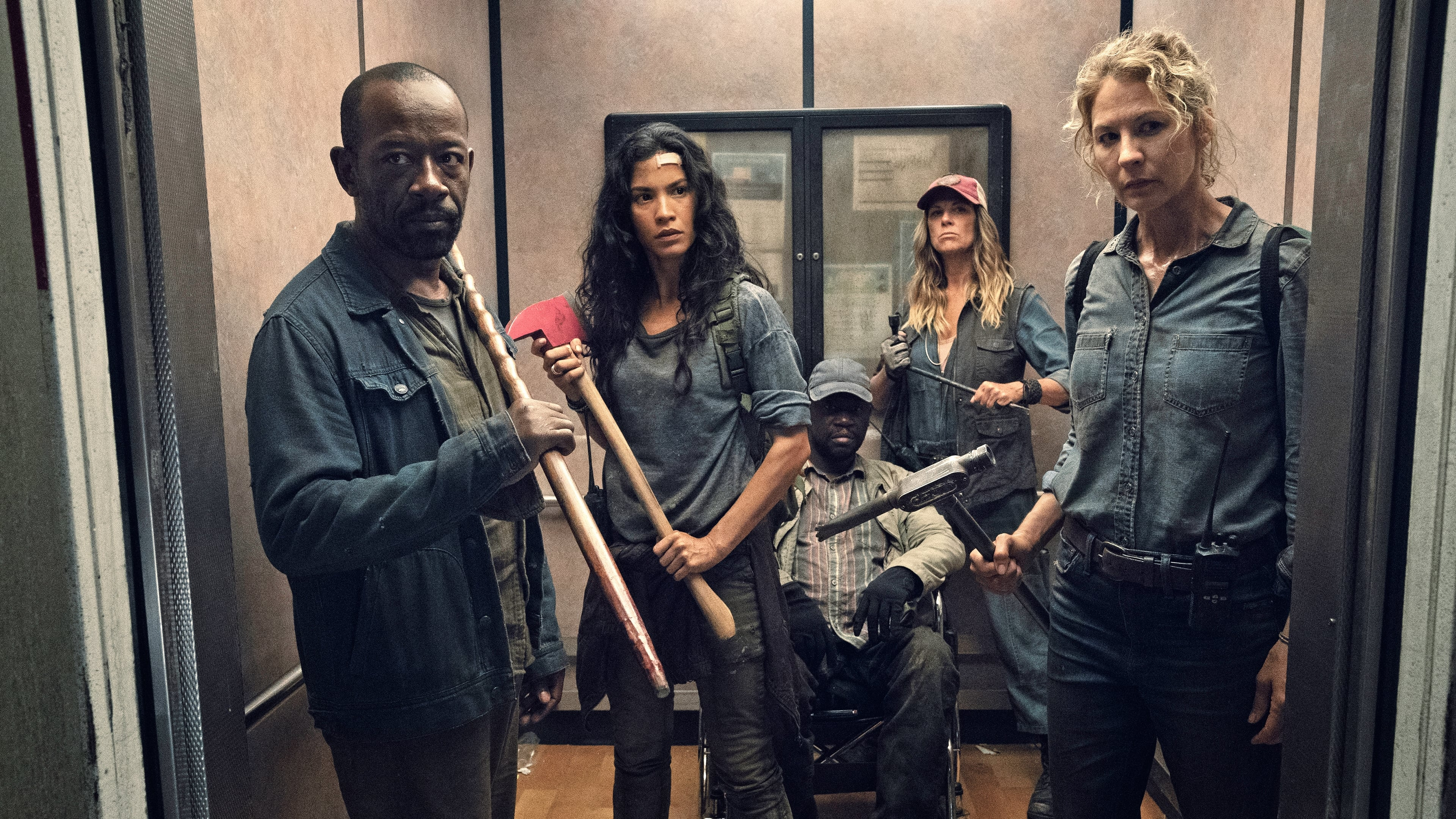 Fear the Walking Dead Season 4 :Episode 15  I Lose People...