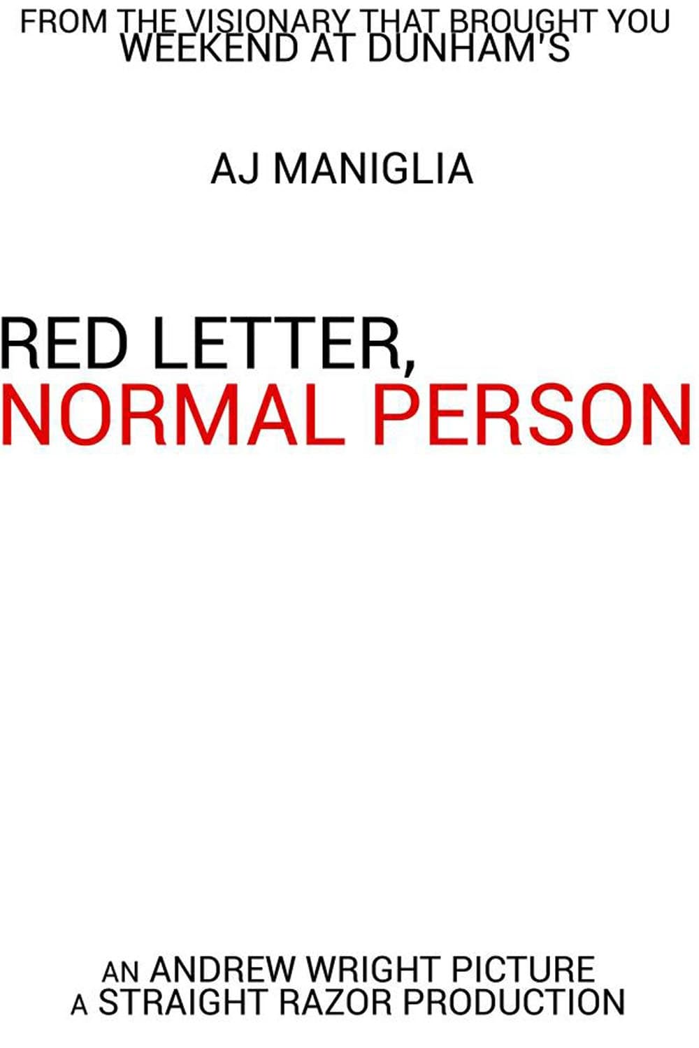 Ver Red Letter, Normal Person Online HD Español ()