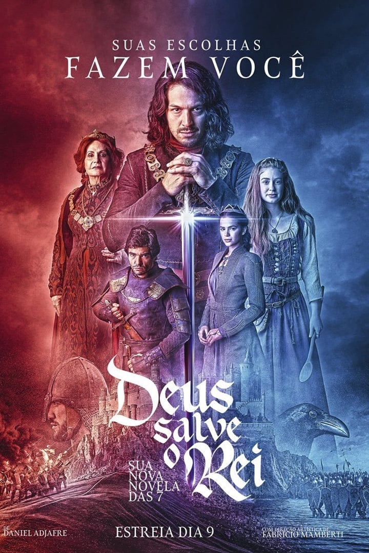 Deus Salve o Rei series tv complet