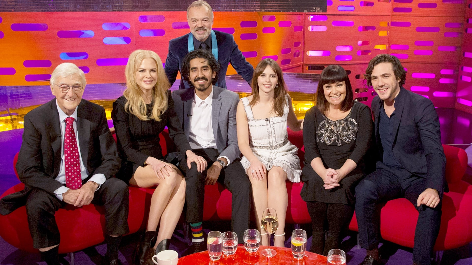 The Graham Norton Show Season 20 :Episode 11  Nicole Kidman, Dev Patel, Felicity Jones, Dawn French, Sir Michael Parkinson, Jack Savoretti