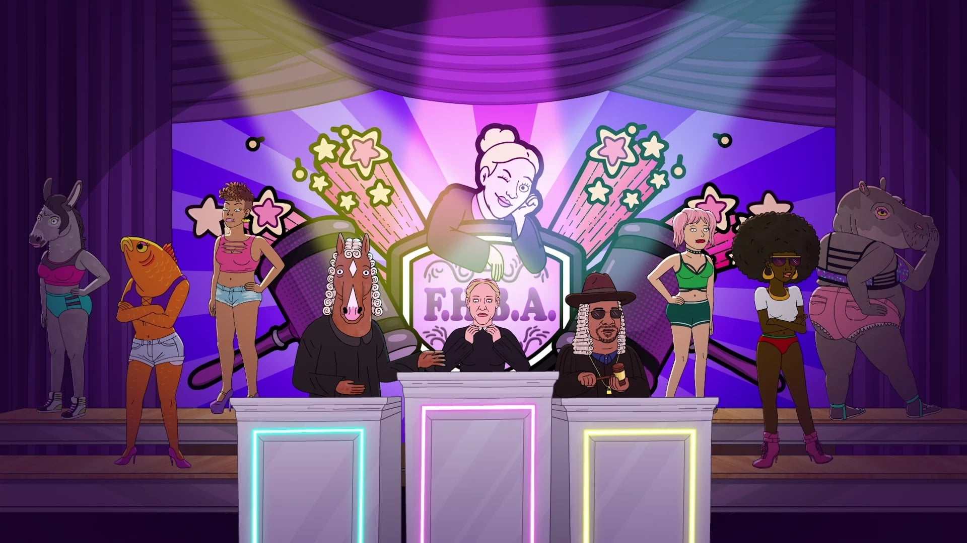BoJack Horseman Season 4 :Episode 8  The Judge