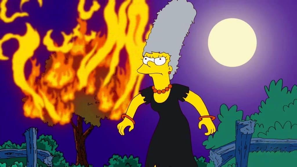 Die Simpsons Season 22 :Episode 13  Die Farbe Grau