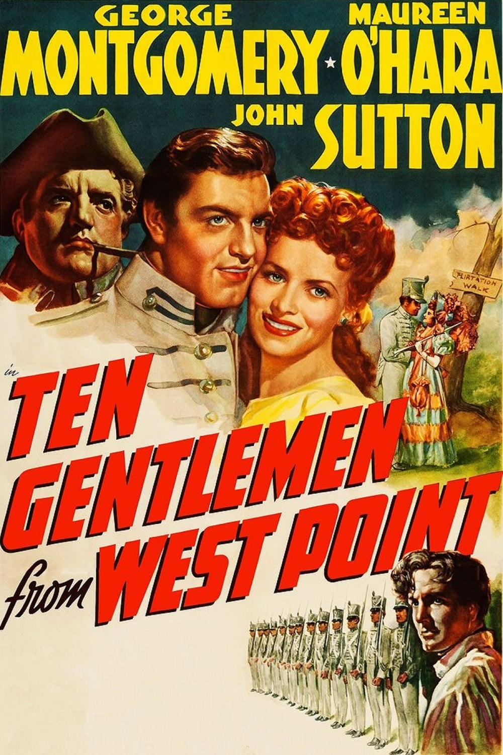 Ten Gentlemen from West Point (1942)