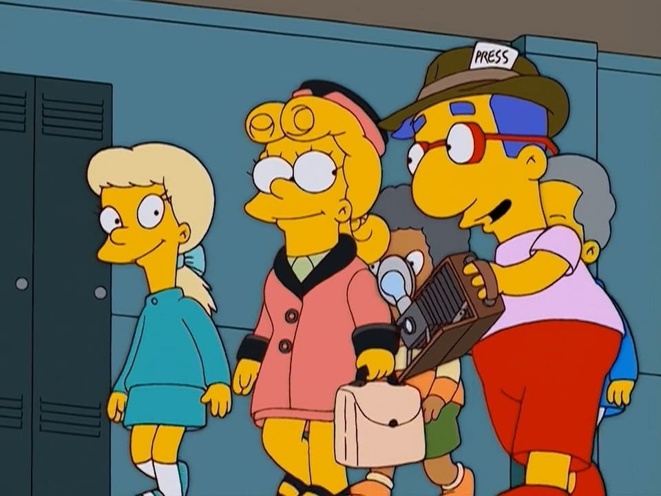The Simpsons - Season 15 Episode 3 : The President Wore Pearls