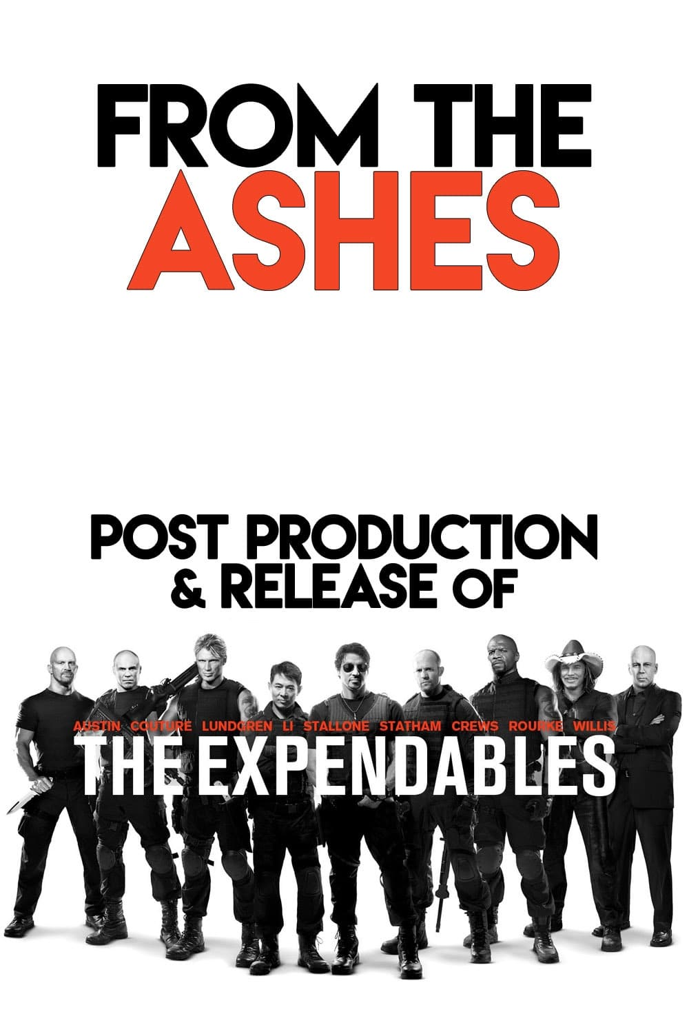 From the Ashes: Post-Production and Release of 'The Expendables' (2010)