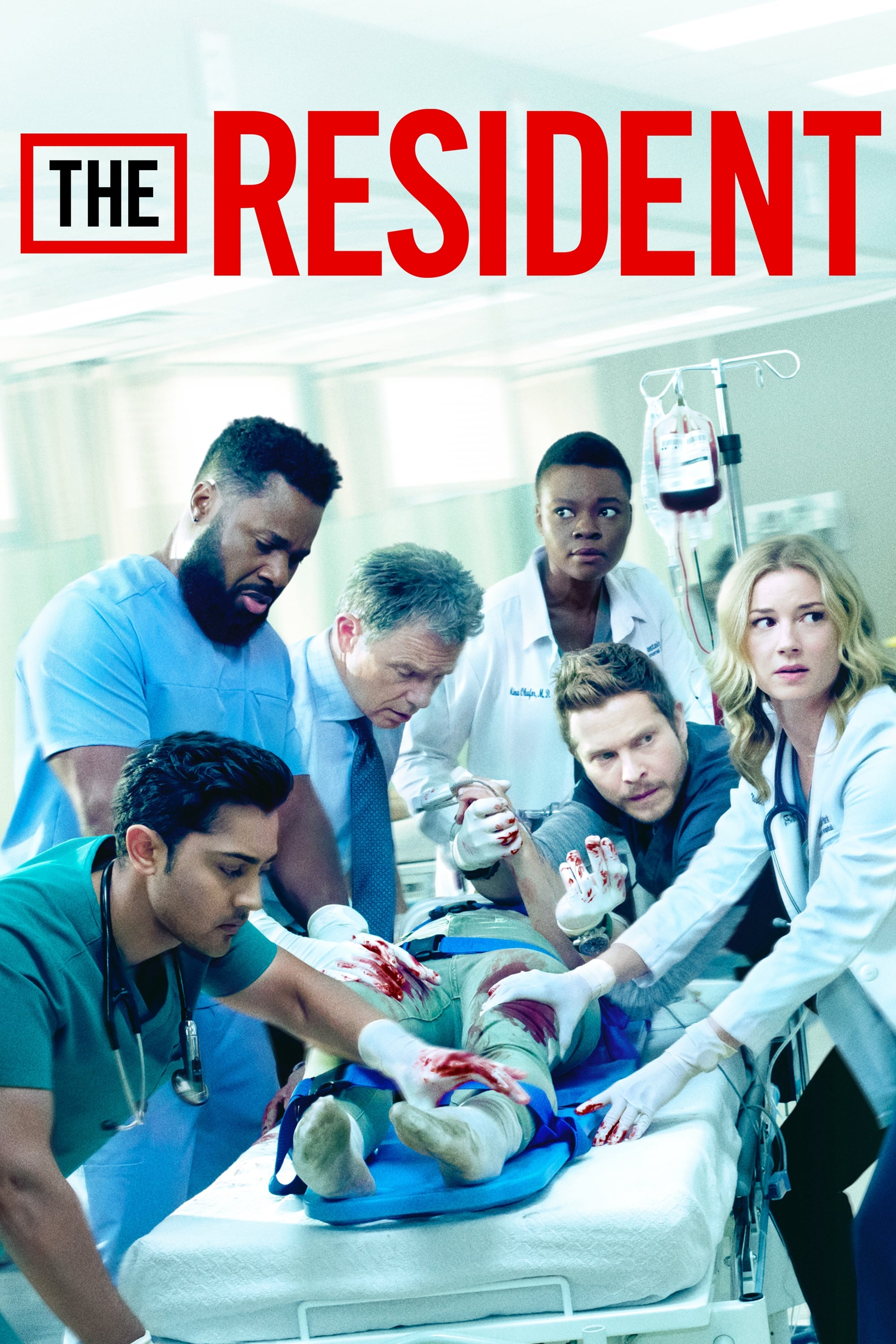 Legenda The Resident S03E01