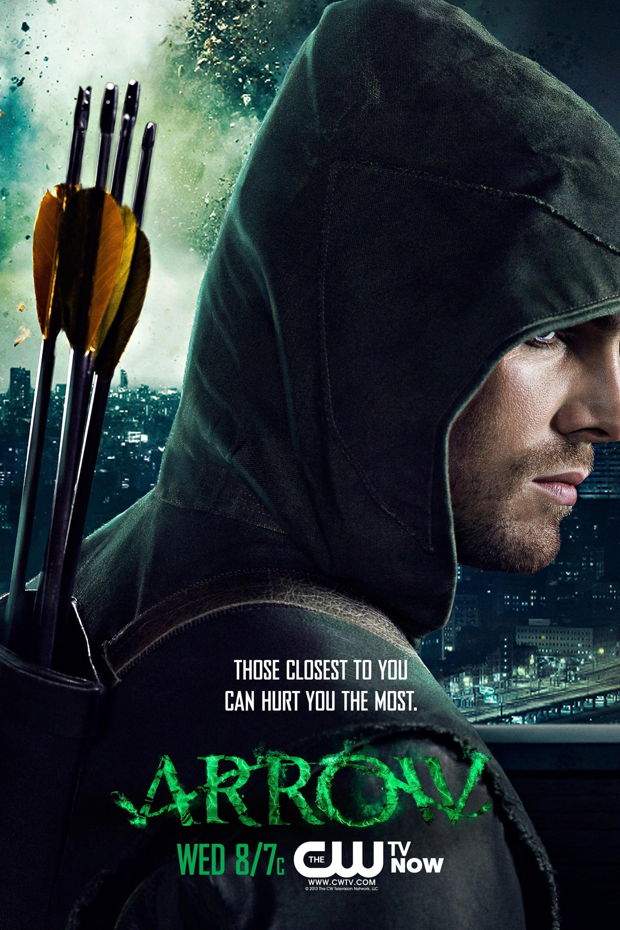 arrow tv series 2012 posters the movie database tmdb. Black Bedroom Furniture Sets. Home Design Ideas