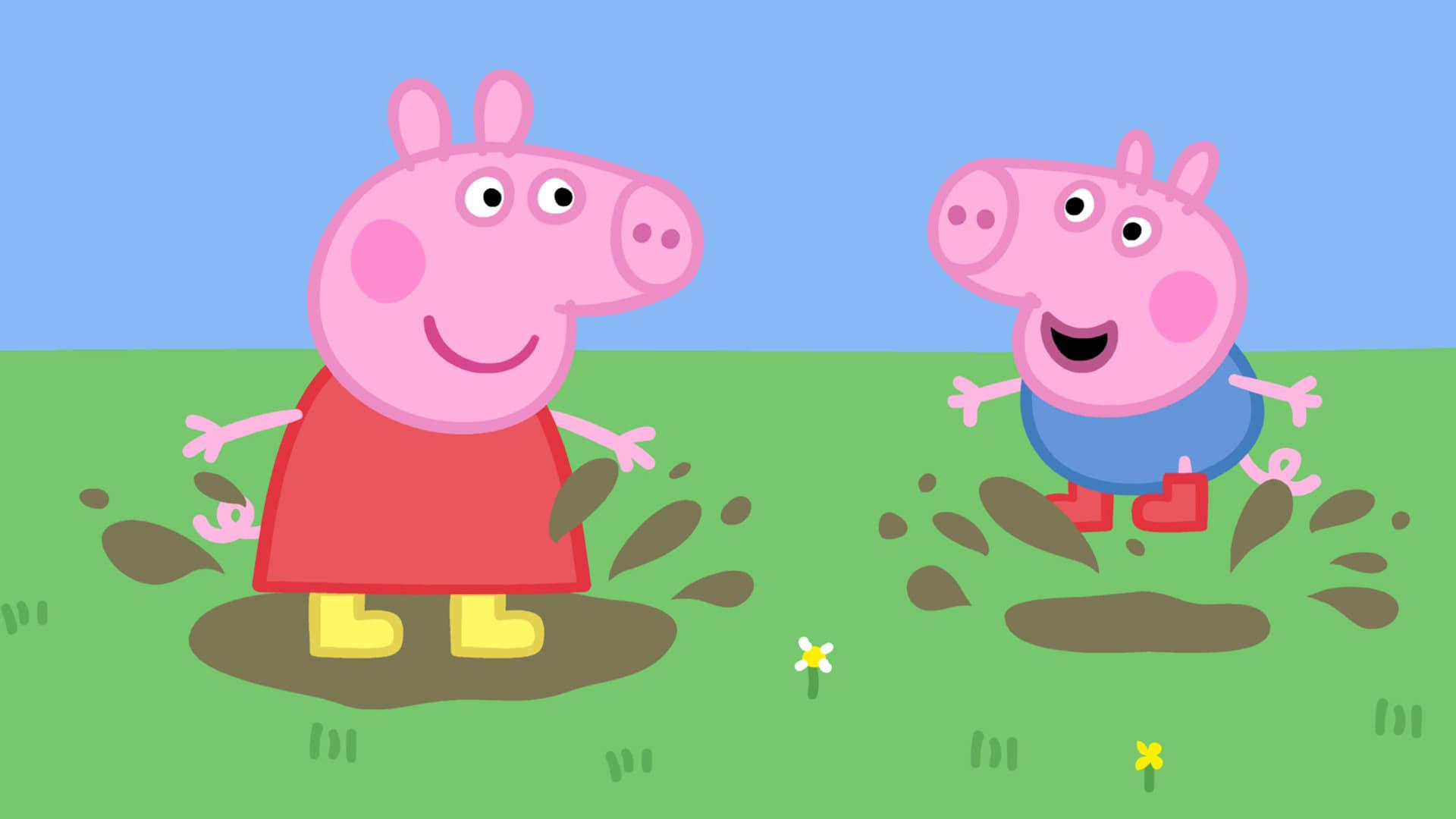 Peppa Pig Season 5 :Episode 1  Playing Pretend