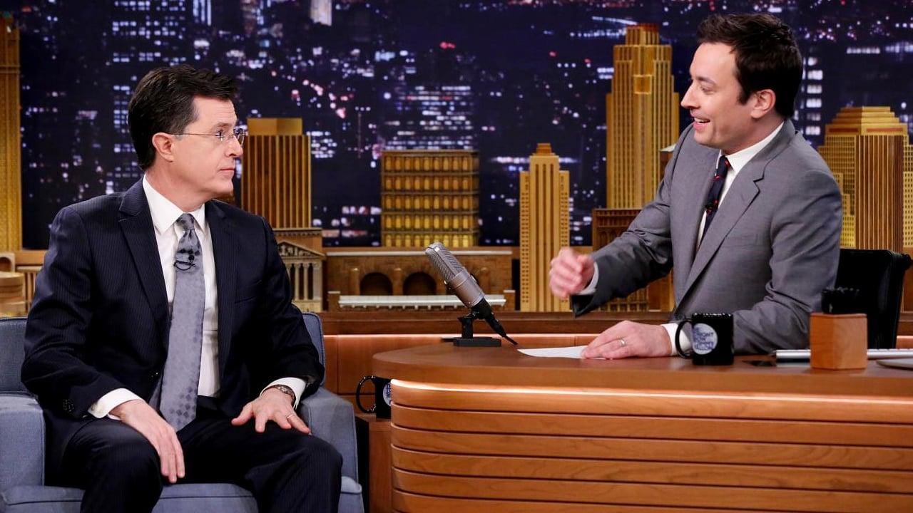 The Tonight Show Starring Jimmy Fallon Season 1 :Episode 15  Stephen Colbert, Keri Russell, Broken Bells