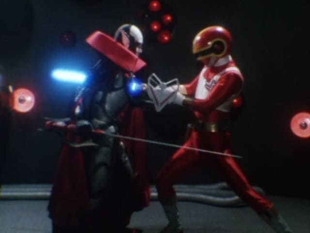Super Sentai Season 9 :Episode 54  Giluke's Grand Explosion!