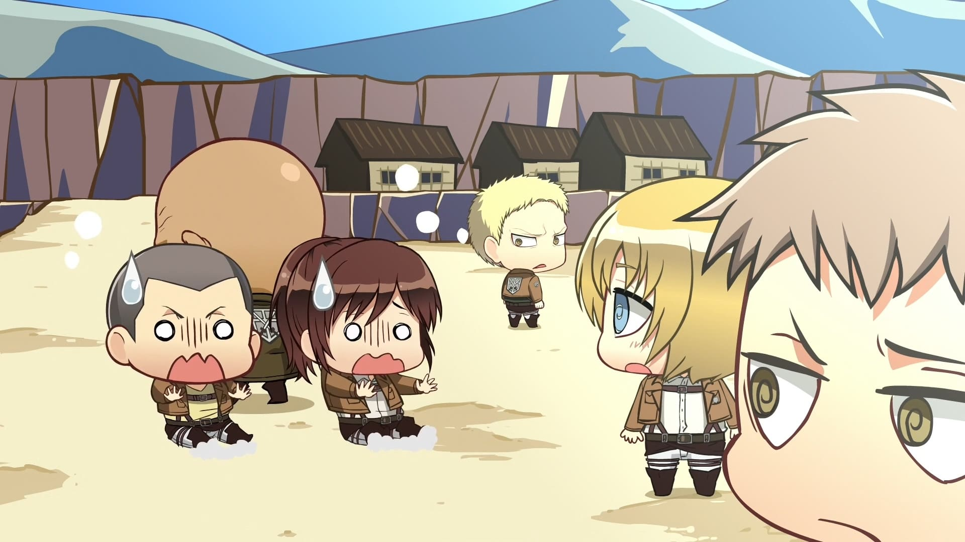 Attack on Titan Season 0 :Episode 8  Chibi Theater: Fly, Cadets, Fly!: Day 14 / Day 15 / Day 16