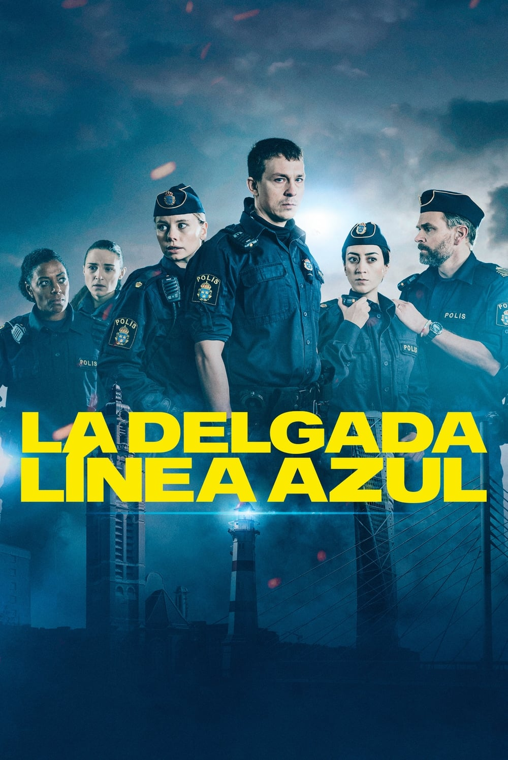 Tunna blå linjen TV Shows About Police