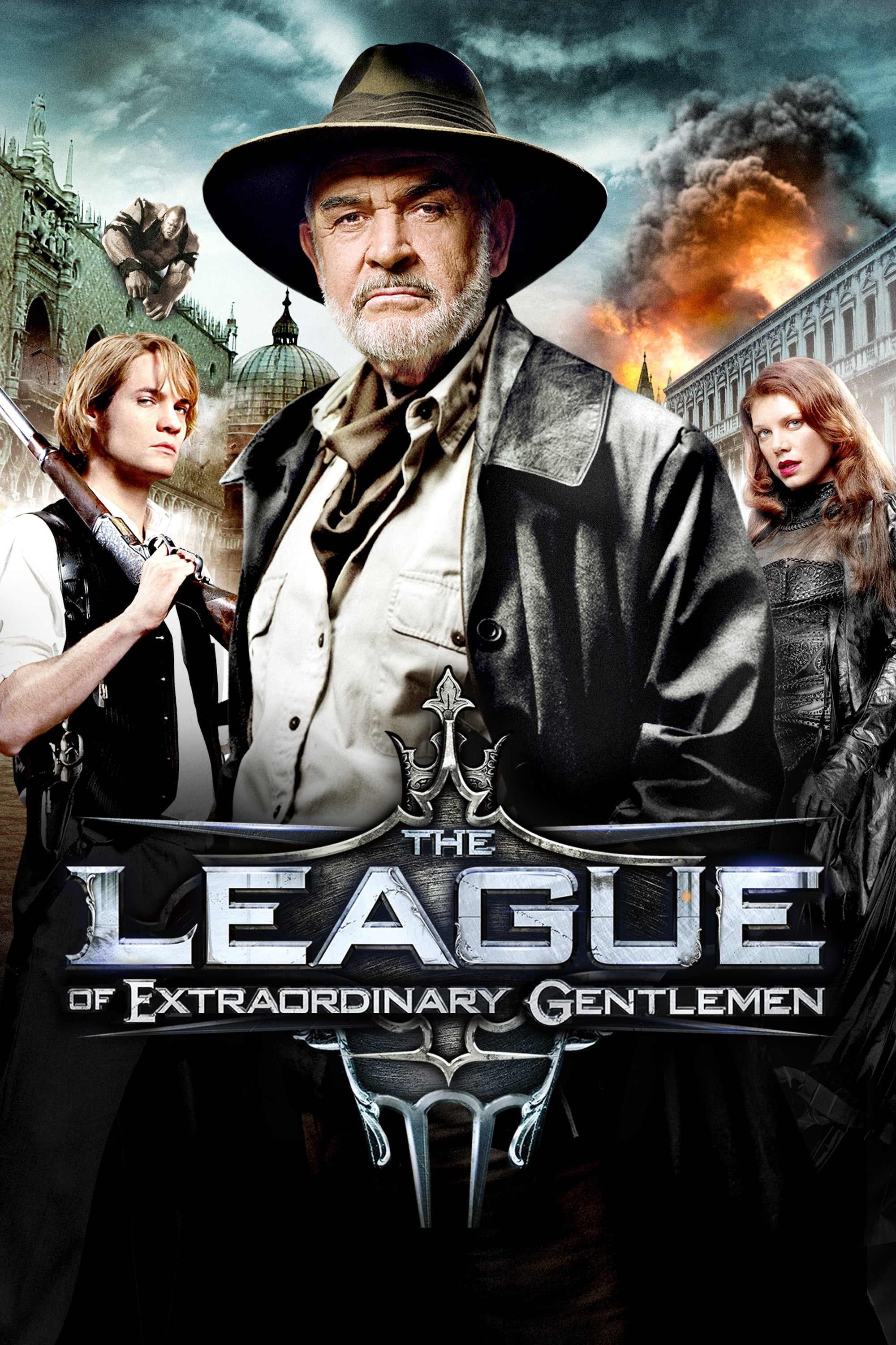 The League Of Extraordinary Gentlemen 2003 Posters The Movie Database Tmdb