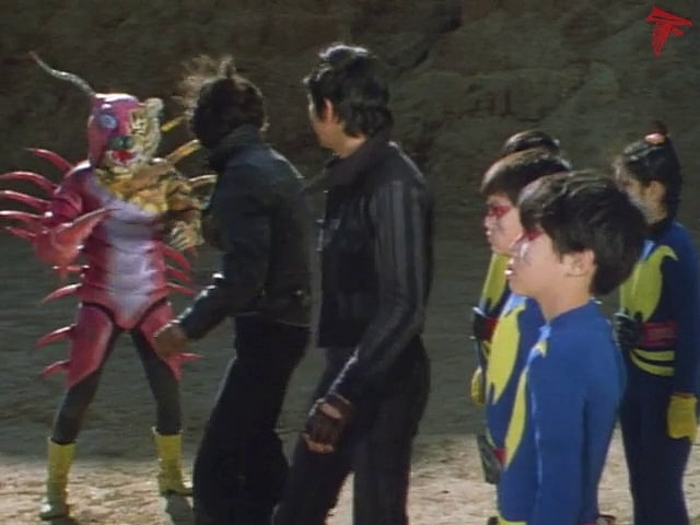 Kamen Rider Season 1 :Episode 91  Gel-Shocker, Enroll in Terror School