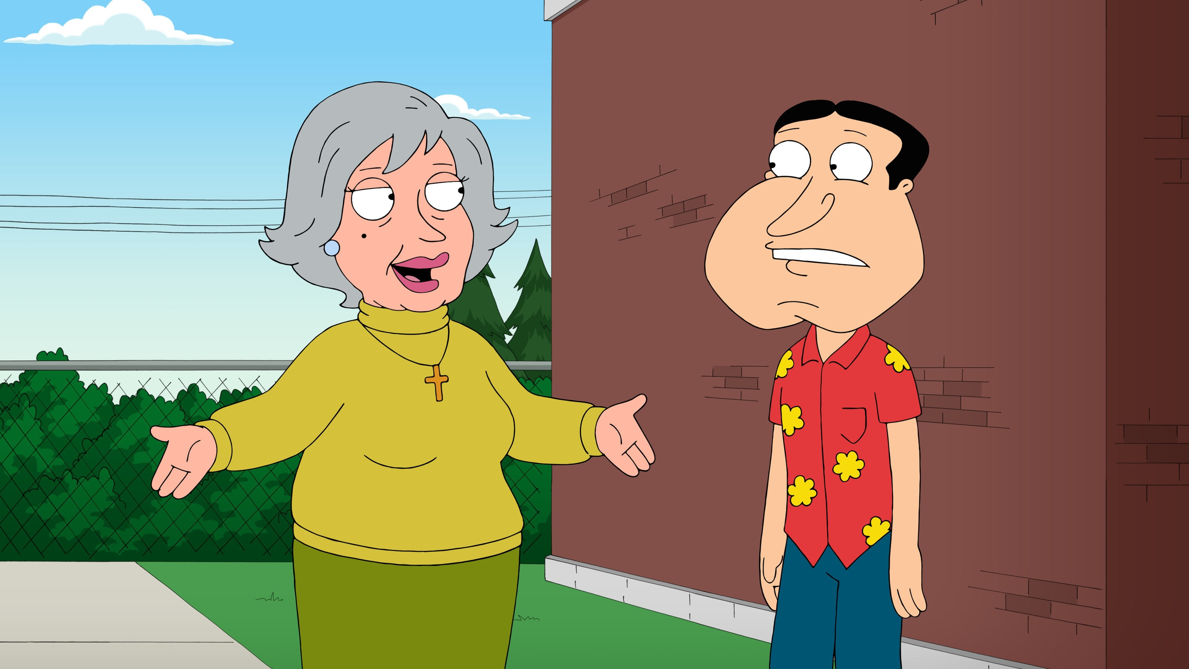 Family Guy Season 13 :Episode 10  Quagmire's Mom
