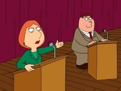Family Guy Season 2 :Episode 10  Running Mates