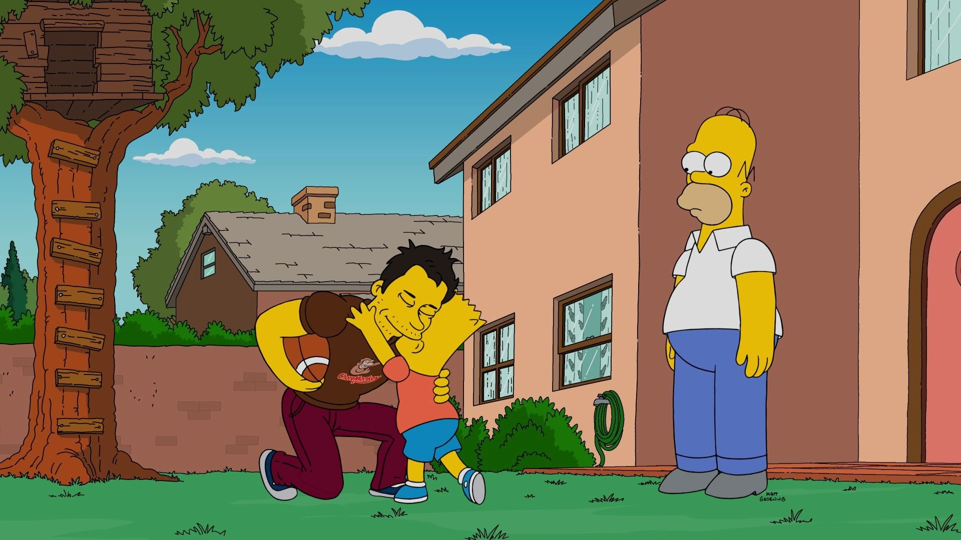 The Simpsons Season 28 :Episode 8  Dad Behavior