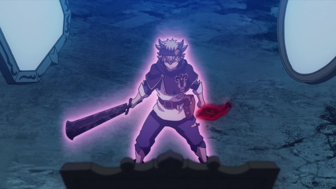 Black Clover - Season 1 Episode 110 : The Raging Bull Joins the Showdown!!