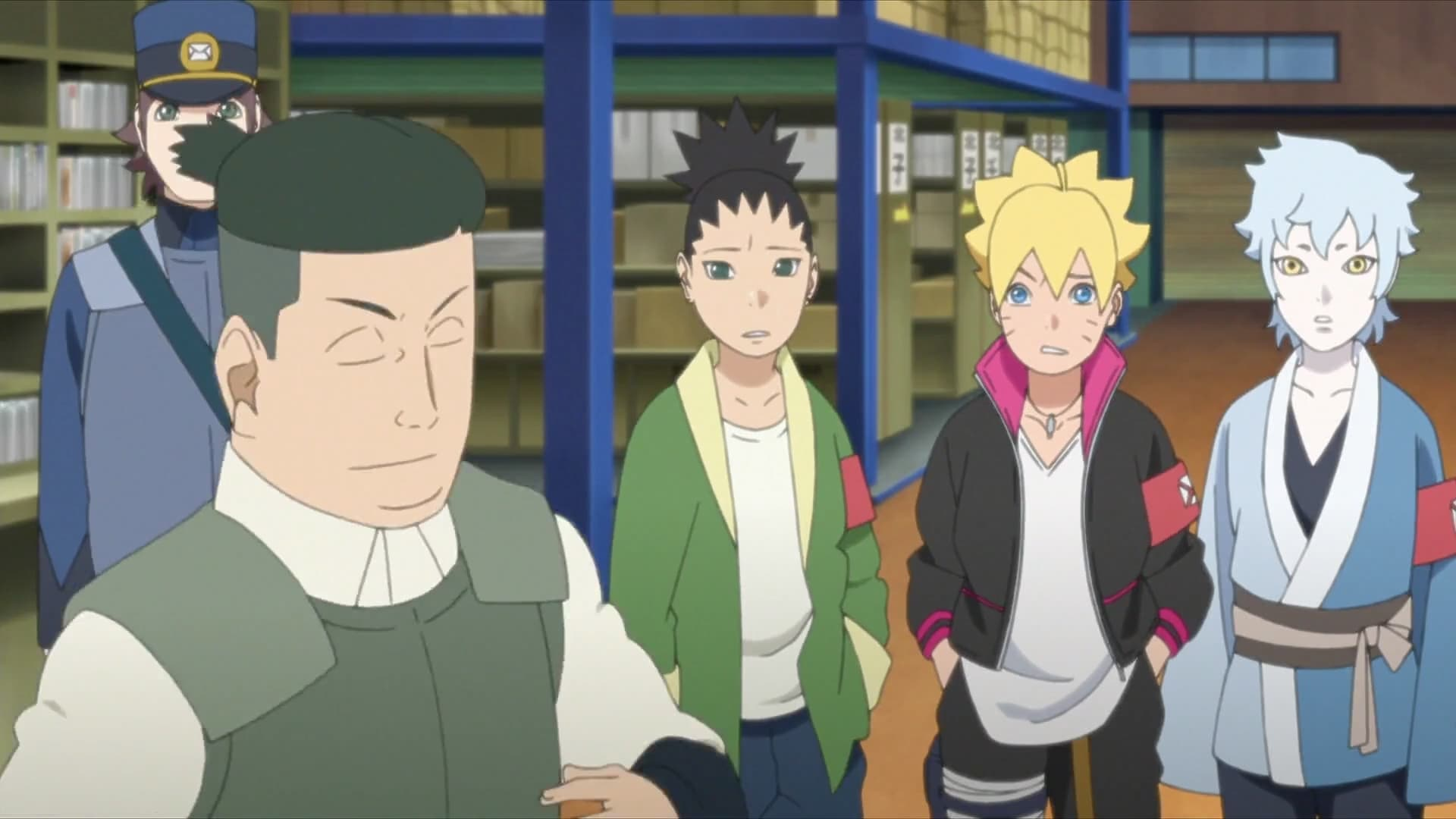 Boruto: Naruto Next Generations Season 1 :Episode 10  The Ghost Incident: The Investigation Begins!