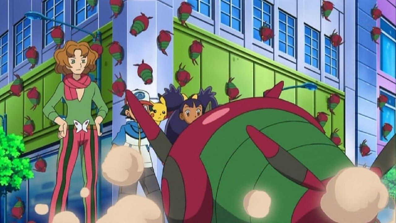 Pokémon Season 14 :Episode 22  A Venipede Stampede!