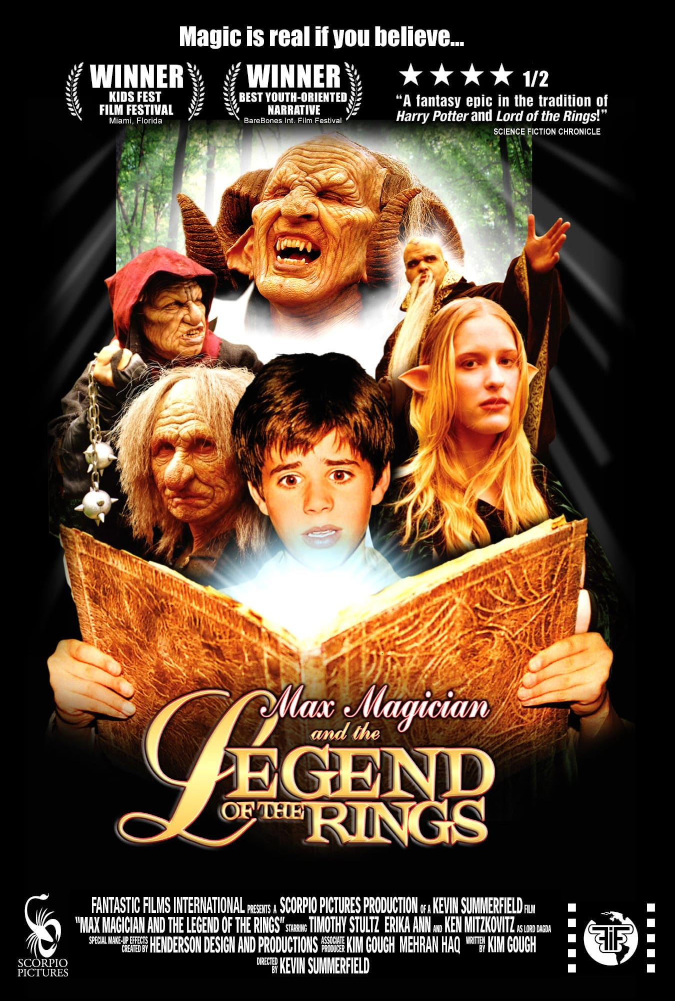 Max Magician and the Legend of the Rings (2002)