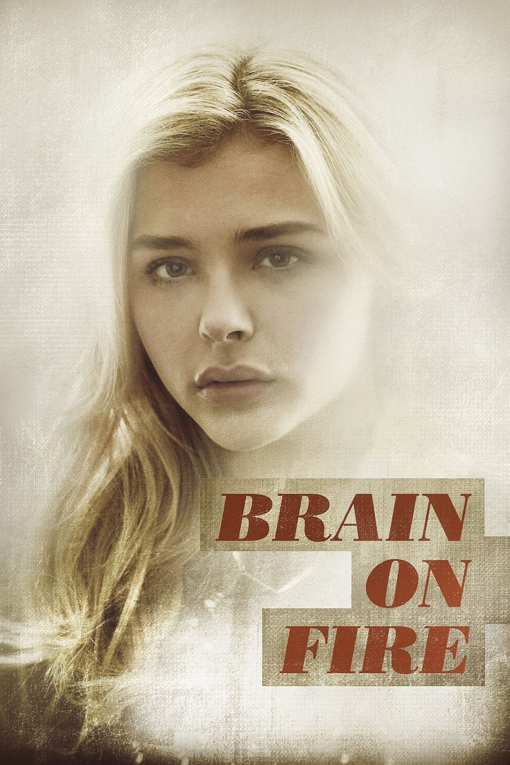 Póster Brain on Fire