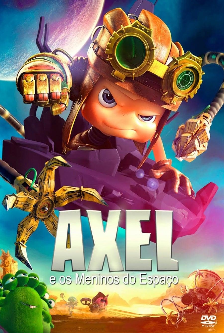 capa Axel e os Meninos do Espaço