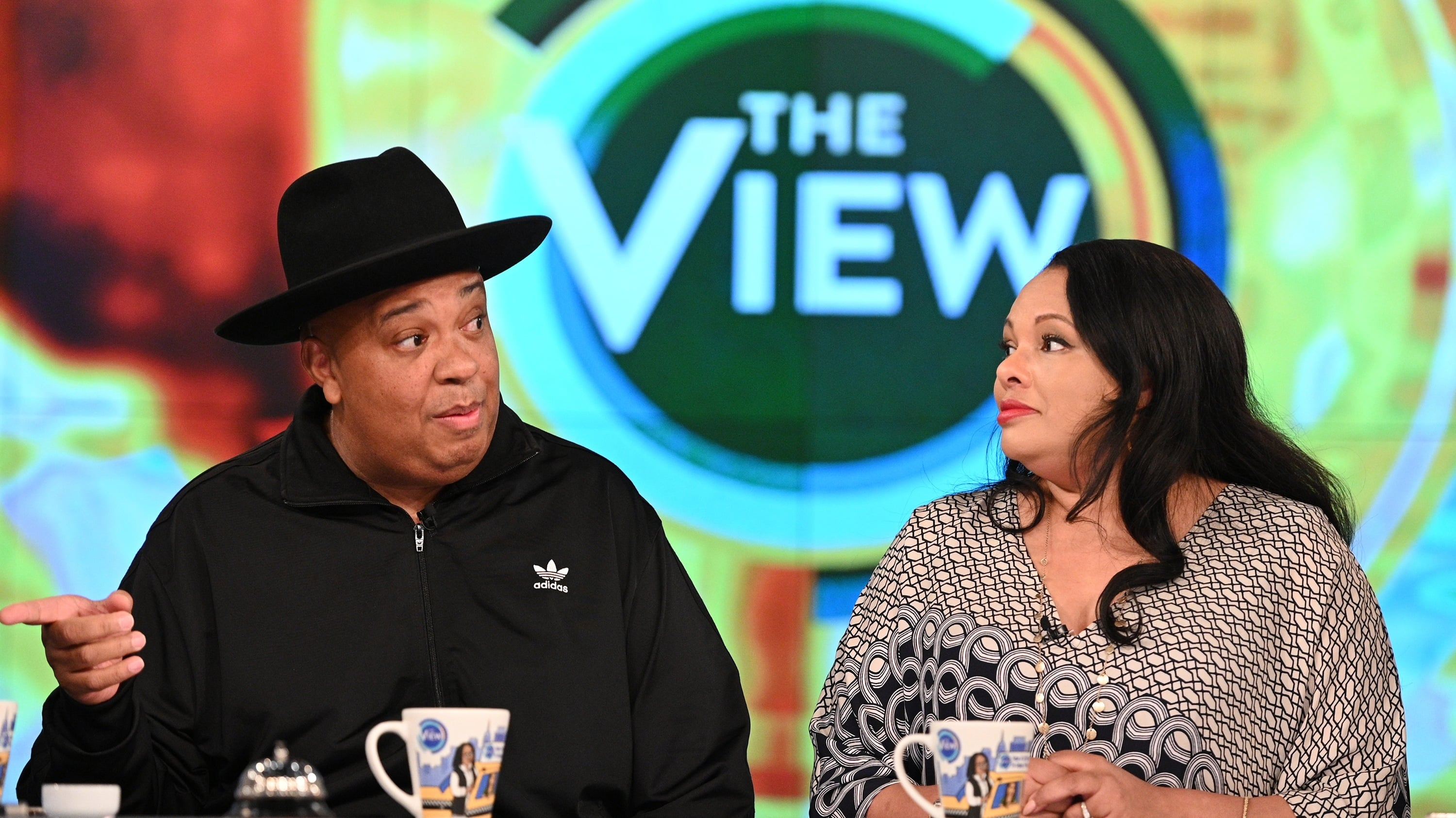 The View Season 23 :Episode 90  Rev Run and Justine Simmons