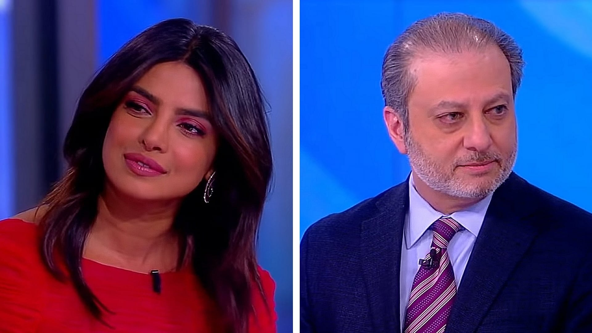 The View Season 22 :Episode 124  Priyanka Chopra Jonas and Preet Bharara