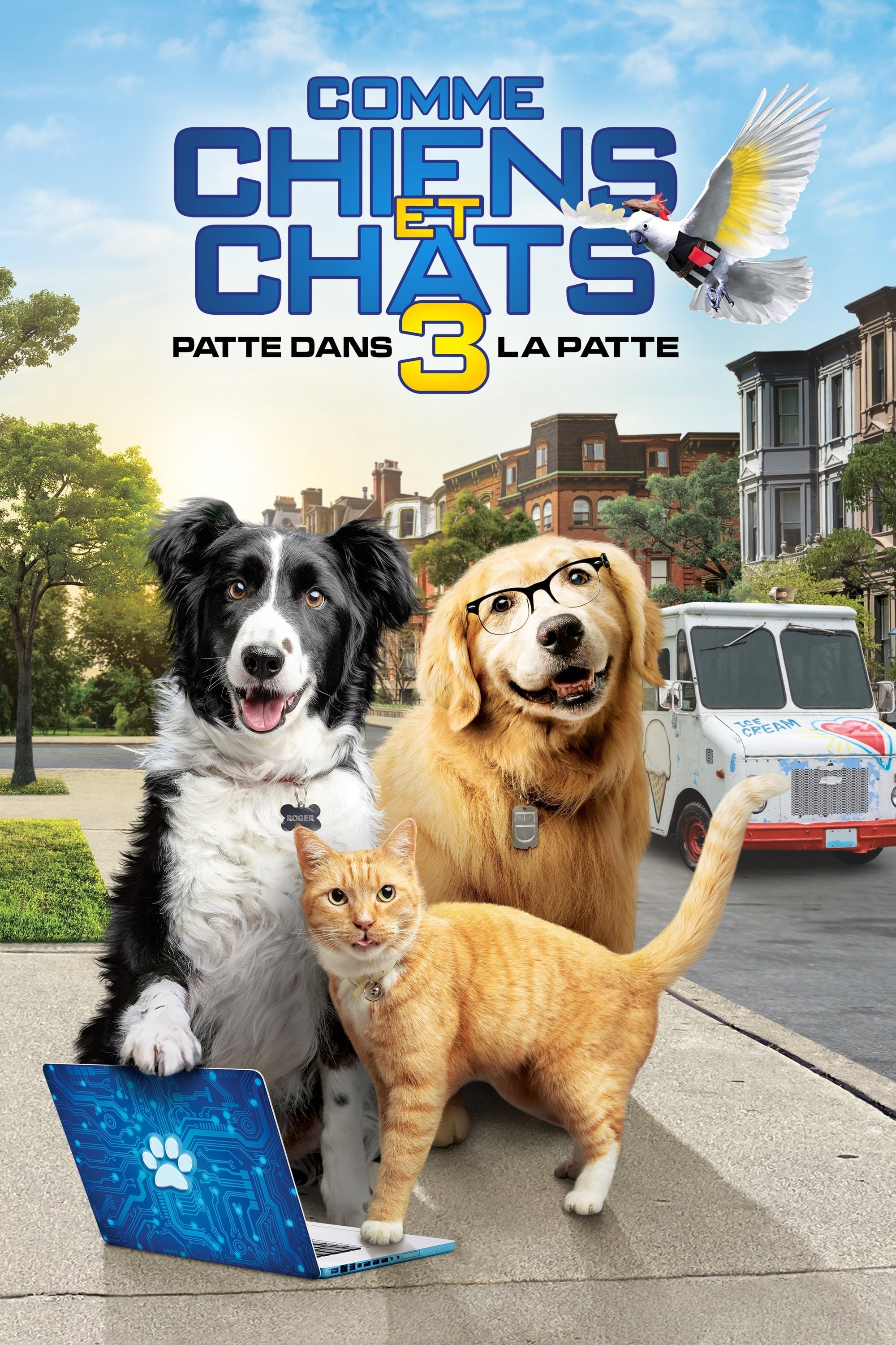 Cats & Dogs 3: Paws Unite streaming sur libertyvf