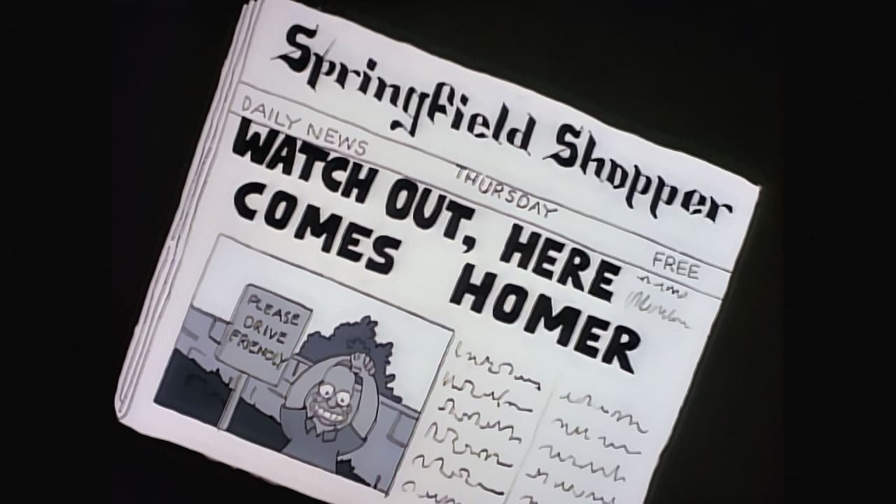 The Simpsons Season 1 :Episode 3  Homer's Odyssey