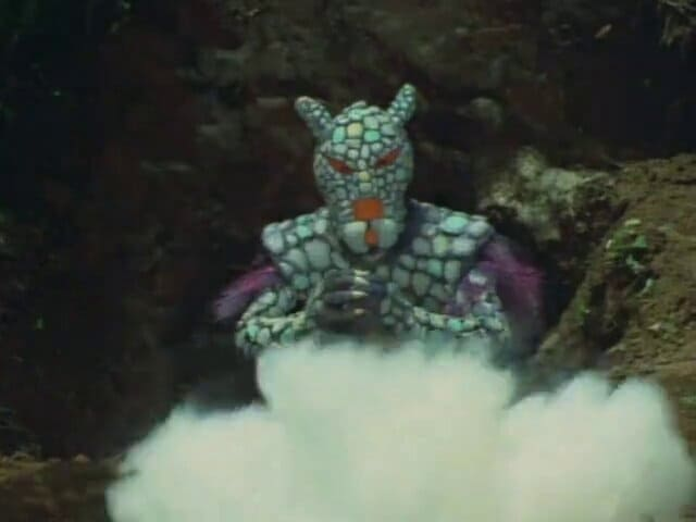 Kamen Rider Season 1 :Episode 33  Steel Monster, Armadillong