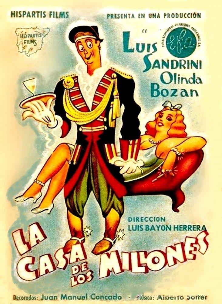 Ver La casa de los millones Online HD Español (1942)