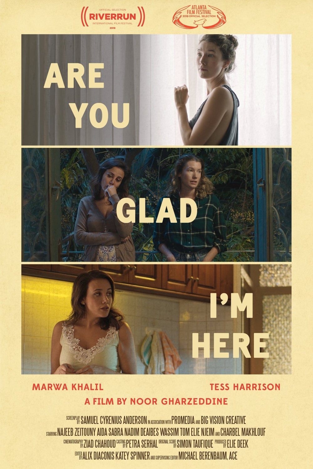Ver Are You Glad I'm Here Online HD Español ()