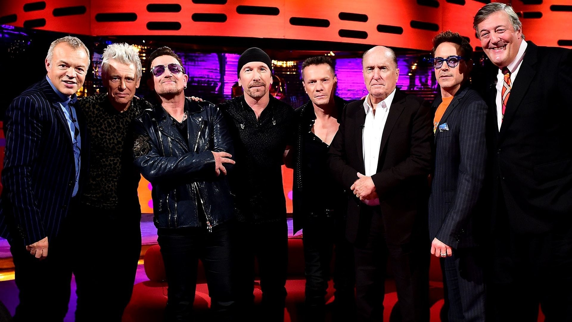 The Graham Norton Show Season 16 :Episode 4  Robert Duvall, Robert Downey Jr., Stephen Fry, U2