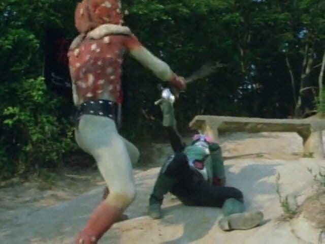 Kamen Rider Season 1 :Episode 25  Defeat Kinokomolg!