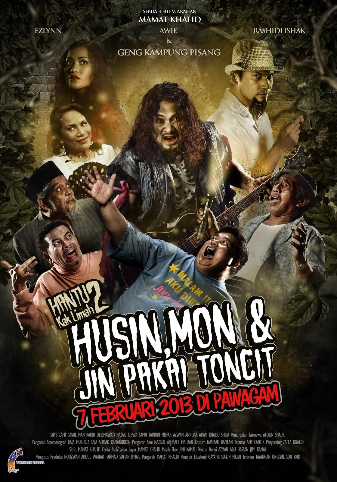 Hantu Kak Limah 2: Husin, Mon dan Jin Pakai Toncit
