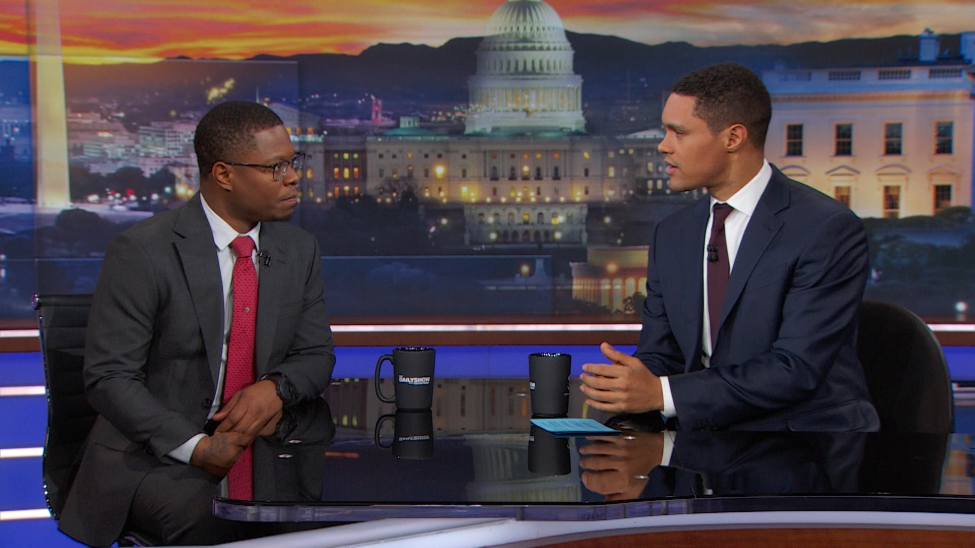 The Daily Show with Trevor Noah Season 23 :Episode 41  Jason Mitchell