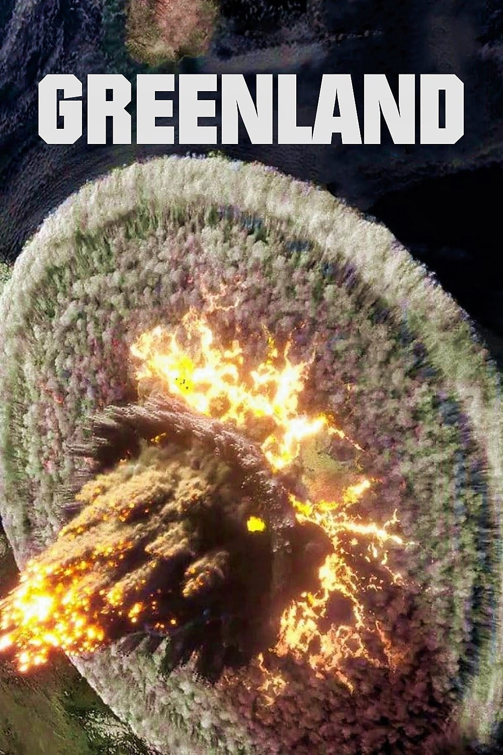 Poster and image movie Greenland