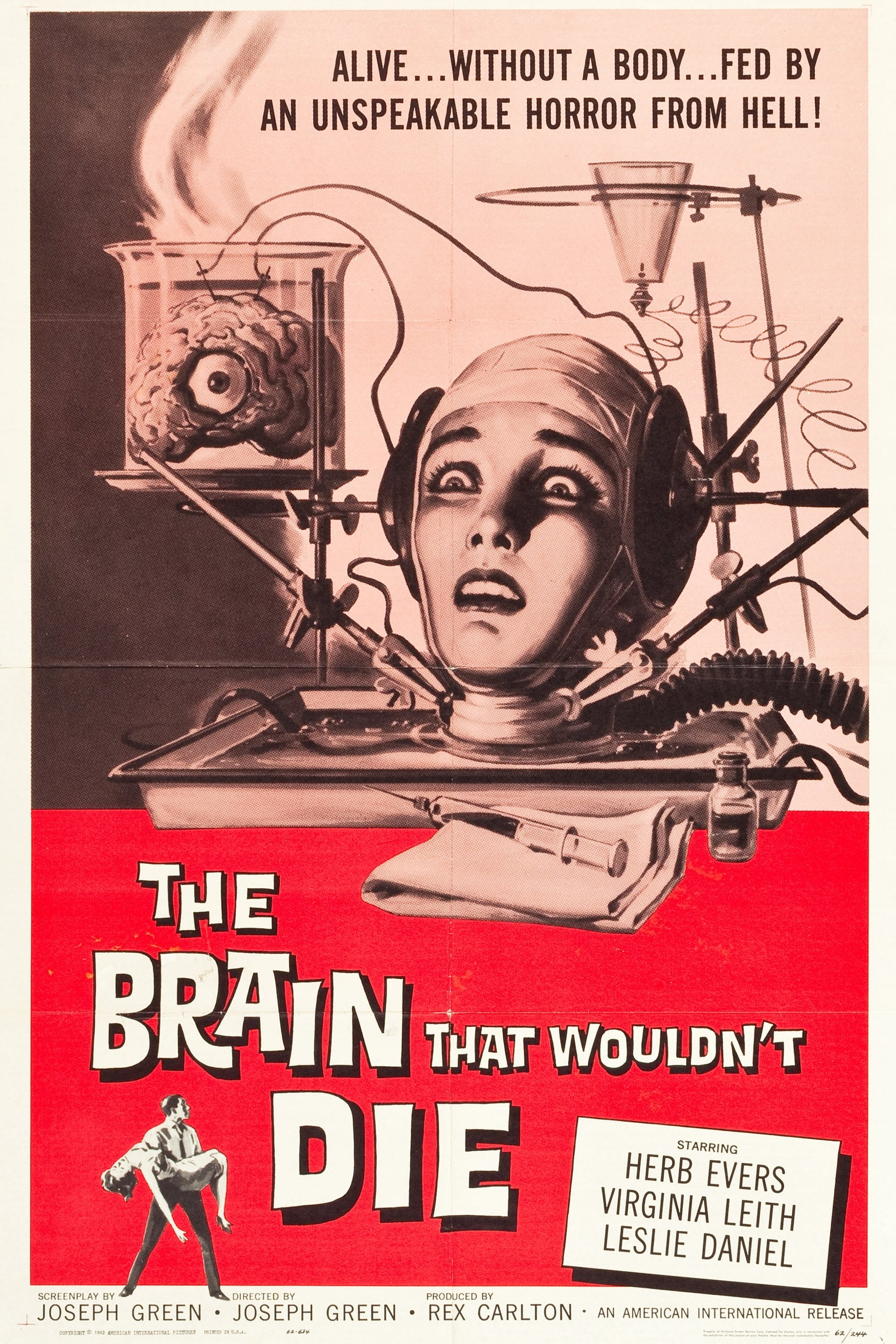 The Brain That Wouldn't Die on FREECABLE TV