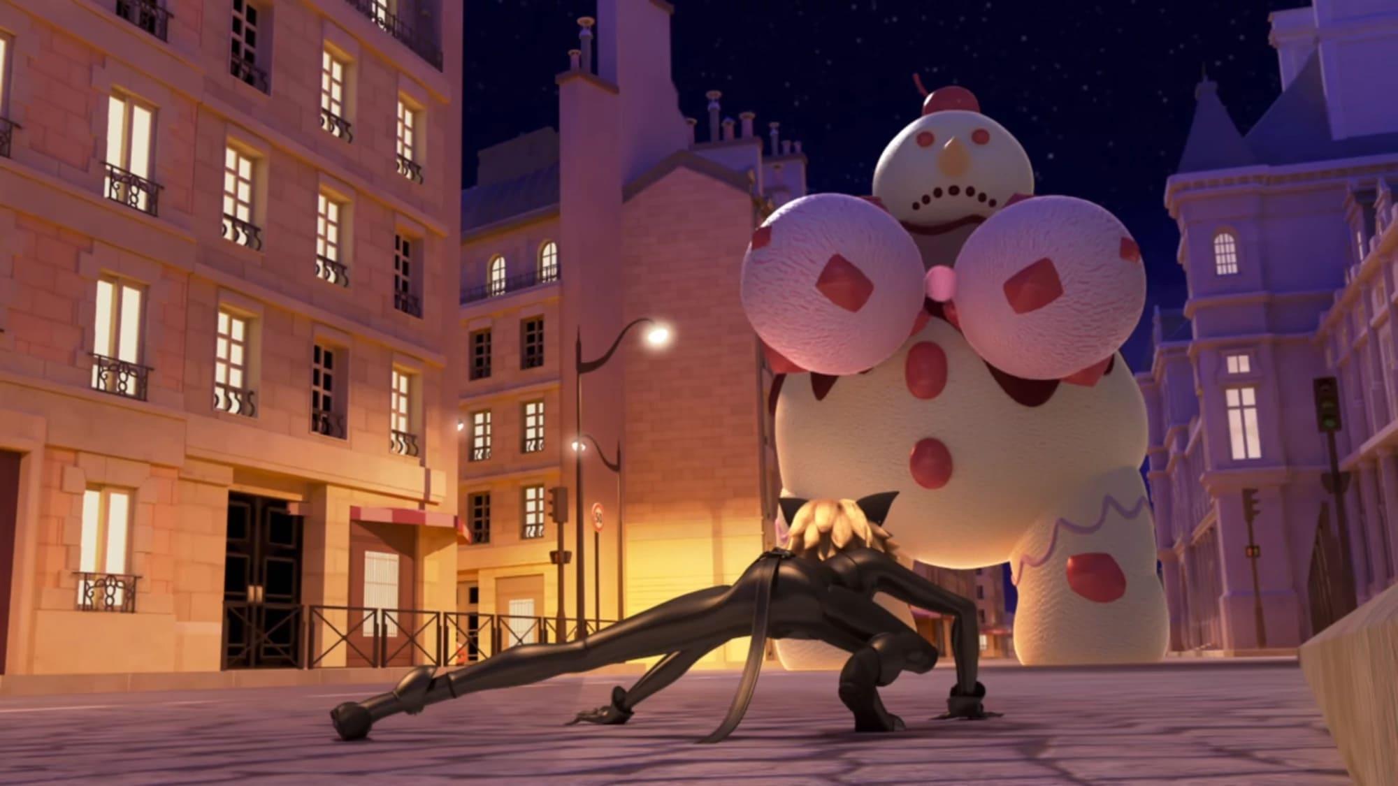 Miraculous: Tales of Ladybug & Cat Noir Season 2 :Episode 9  Glaciator