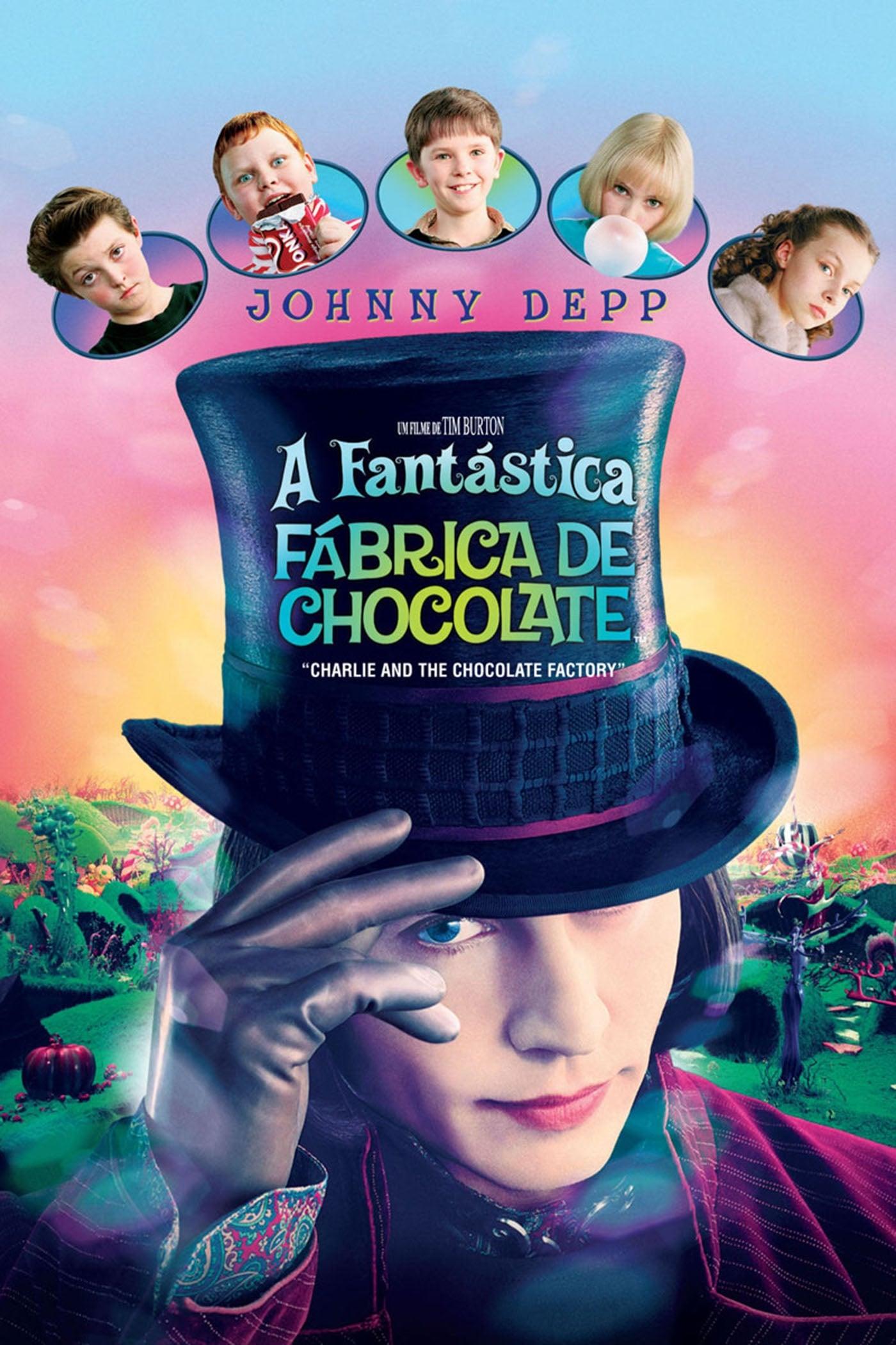 capa A Fantástica Fábrica de Chocolate