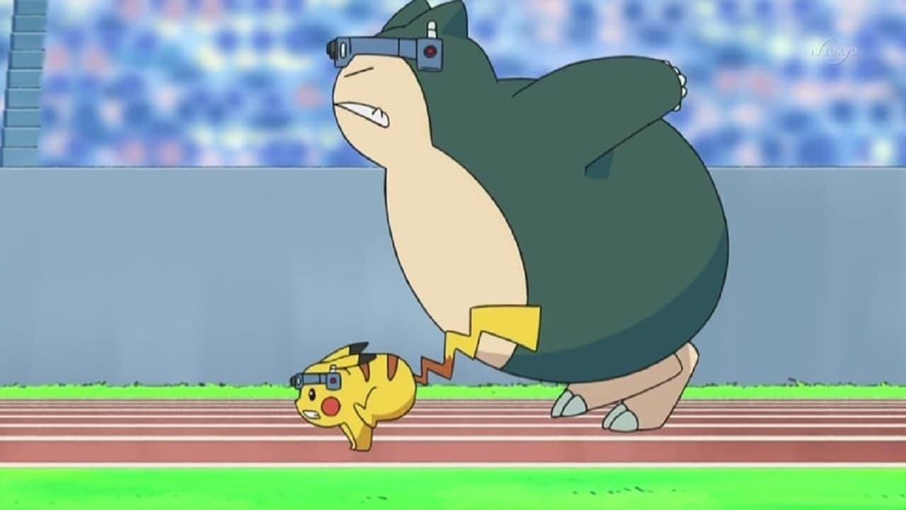 Pokémon Season 13 :Episode 3  A Marathon Rivalry!