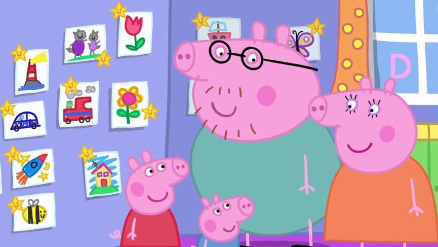 Peppa Pig Season 5 :Episode 42  Playgroup Star